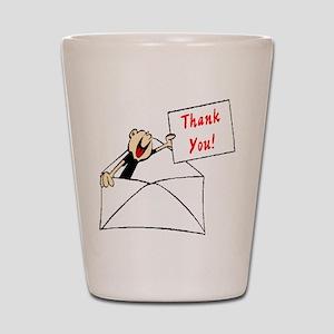 Thank You Shot Glass