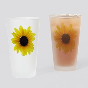 Sunflower Drinking Glass