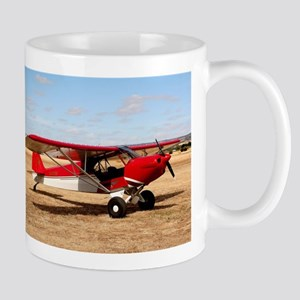 Sport Cub Plane, high wing aircraft Mugs