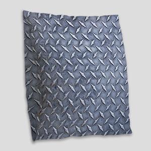 Steel Diamond Pattern Metal Grating Burlap Throw P