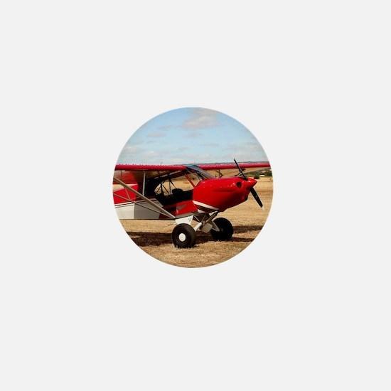 Sport Cub Plane, high wing aircraft Mini Button