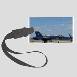 Blue Angels Large Luggage Tag