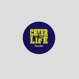 Cheerleader personalized Mini Button