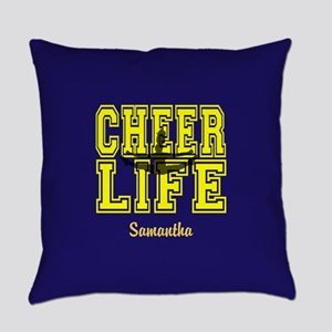 Cheerleader personalized Everyday Pillow