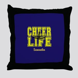 Cheerleader personalized Throw Pillow
