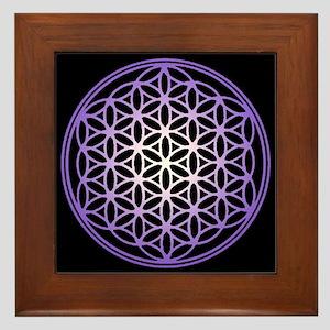 Flower of Life Framed Tile