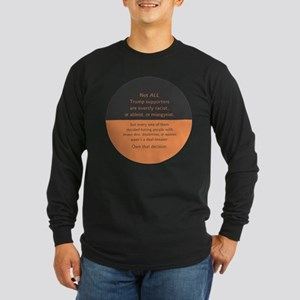 Trump Supporters Long Sleeve T-Shirt