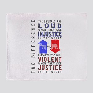 Cons are Violent Throw Blanket