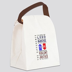 Cons are Violent Canvas Lunch Bag