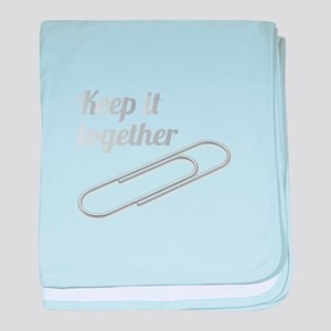 Keep It Together baby blanket