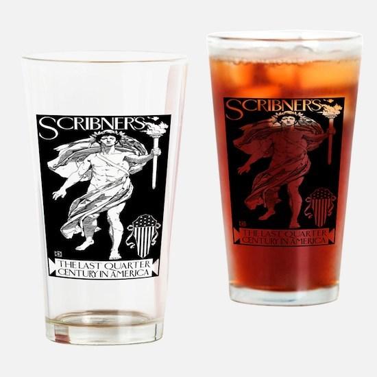 Vintage poster - Scribner's Drinking Glass