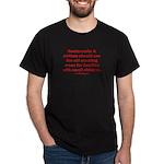 Recycle Smoking Section Dark T-Shirt