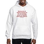Recycle Smoking Section Hooded Sweatshirt