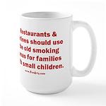 Recycle Smoking Section Large Mug