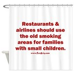 Recycle Smoking Section Shower Curtain