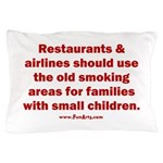 Recycle Smoking Section Pillow Case