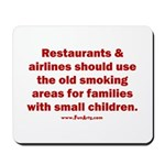 Recycle Smoking Section Mousepad
