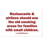 Recycle Smoking Section Postcards (Package of 8)