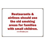 Recycle Smoking Section Banner