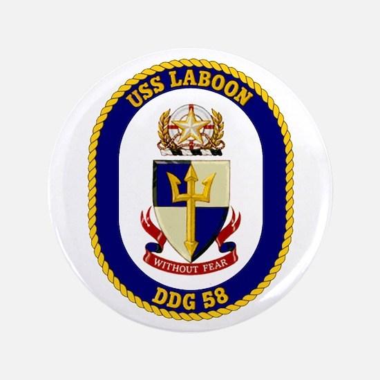 """USS Laboon DDG 58 3.5"""" Button"""