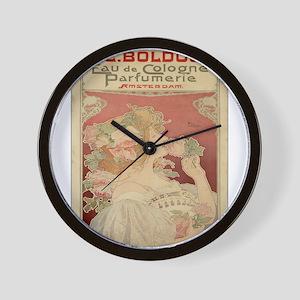Vintage poster - Parfumerie Wall Clock