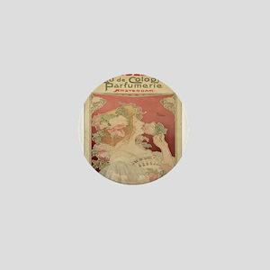 Vintage poster - Parfumerie Mini Button