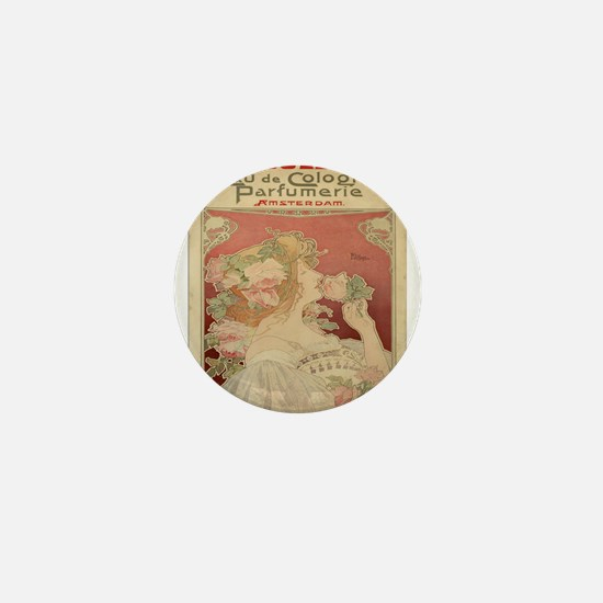 Vintage poster - Parfumerie Mini Button