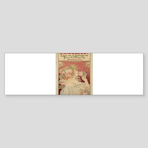 Vintage poster - Parfumerie Bumper Sticker