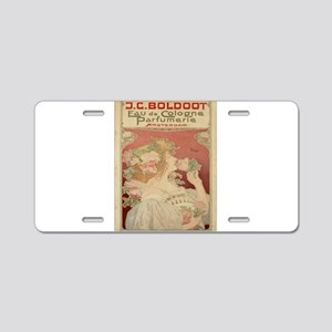 Vintage poster - Parfumerie Aluminum License Plate