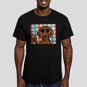 Dachshund Peace Sign T-Shirt