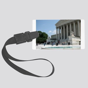 Supreme Court Large Luggage Tag