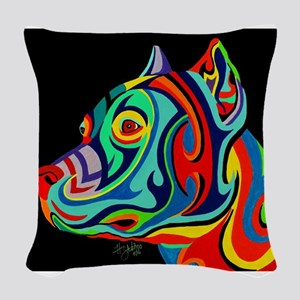 New Breed Woven Throw Pillow