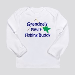 Grandpa's Future Fishing Buddy Long Sleeve T-Shirt