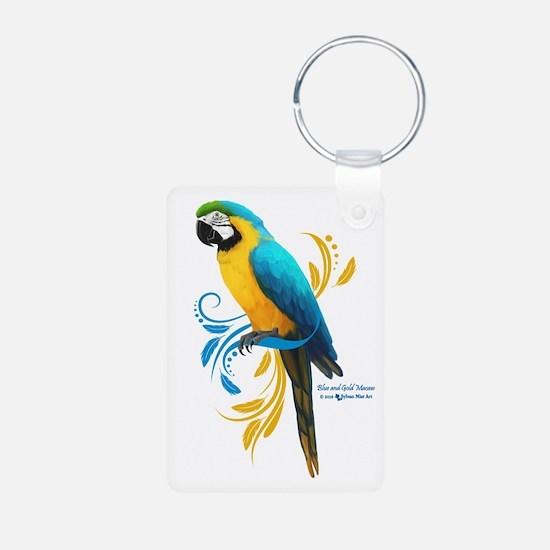 Cute Parrots Keychains