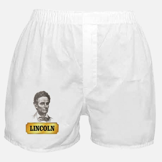 Lincoln slave Boxer Shorts