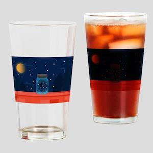 Firefly Night Drinking Glass