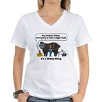 I Bought A Sheep Women's V-Neck T-Shirt