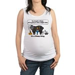 I Bought A Sheep Maternity Tank Top