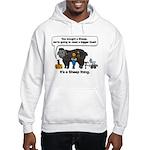 I Bought A Sheep Hooded Sweatshirt