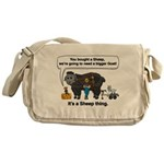 I Bought A Sheep Messenger Bag