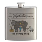 I Bought A Sheep Flask
