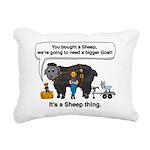 I Bought A Sheep Rectangular Canvas Pillow