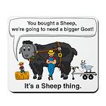 I Bought A Sheep Mousepad