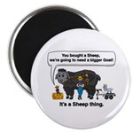 I Bought A Sheep Magnet