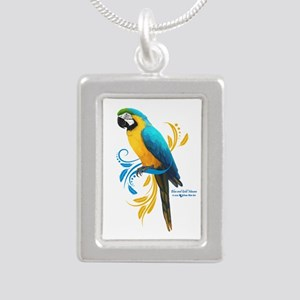 Blue and Gold Macaw Necklaces