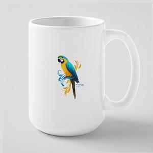 Blue and Gold Macaw Mugs