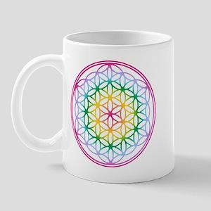 Flower of Life - Rainbow Mug