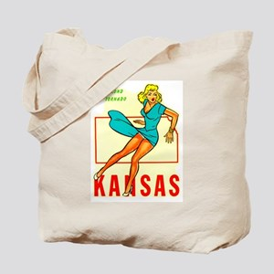 Kansas - Blond Tornado Tote Bag