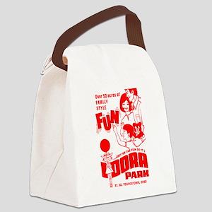 PopcornBox Canvas Lunch Bag