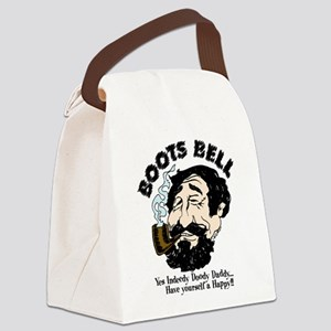 boots Canvas Lunch Bag